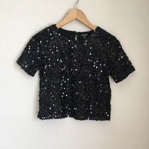 gorgeous sequined top